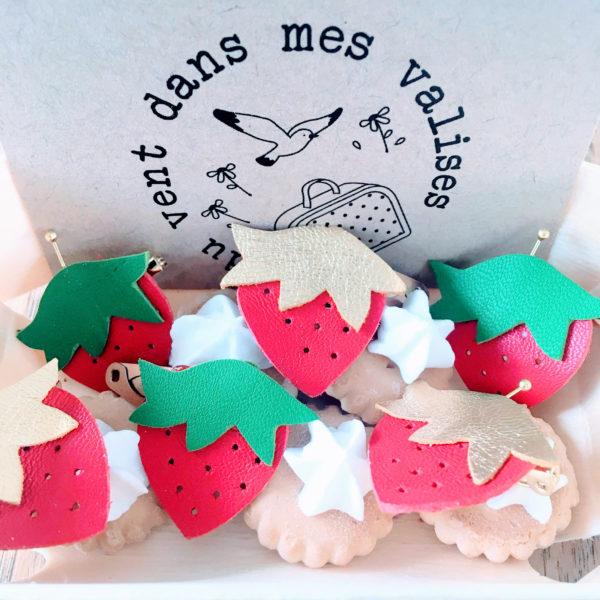 broches fraises