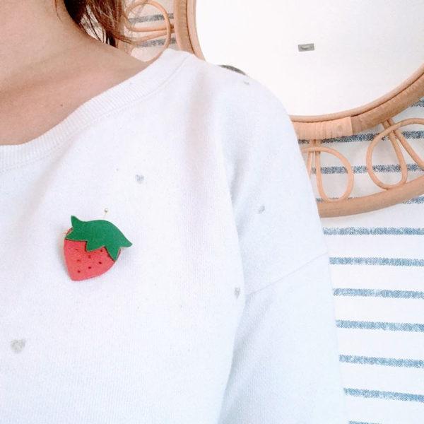 broches fraise