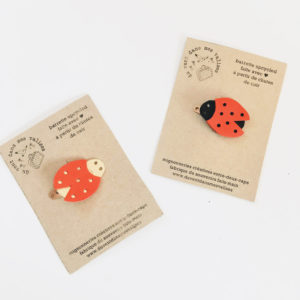 broches coccinelle