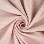 blanc rayé rose