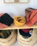 snood pissenlits made in France double gaze de coton - du vent dans mes valises