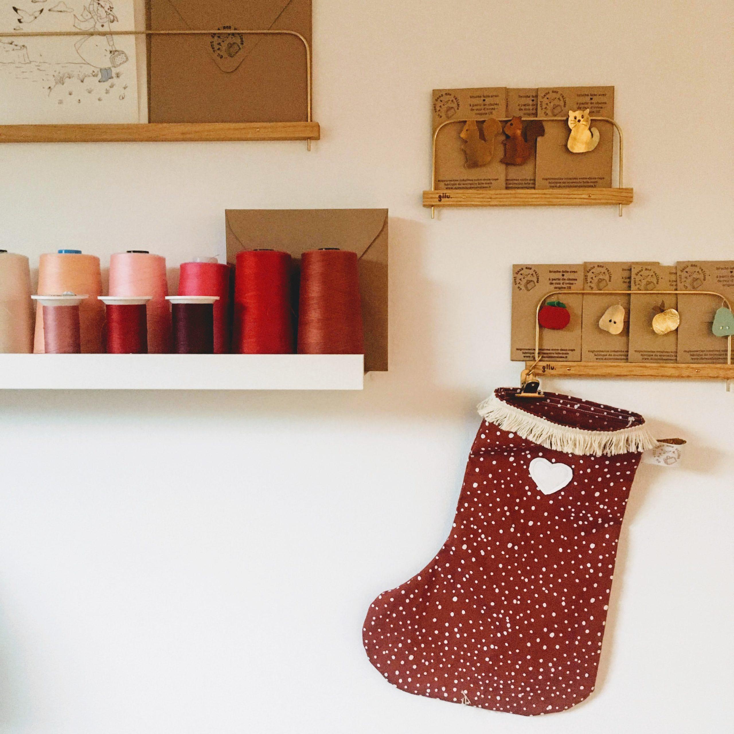 chaussettes de Noël en coton made in France - du vent dans mes valises