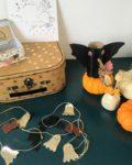 guirlande cuir happy halloween - du vent dans mes valises