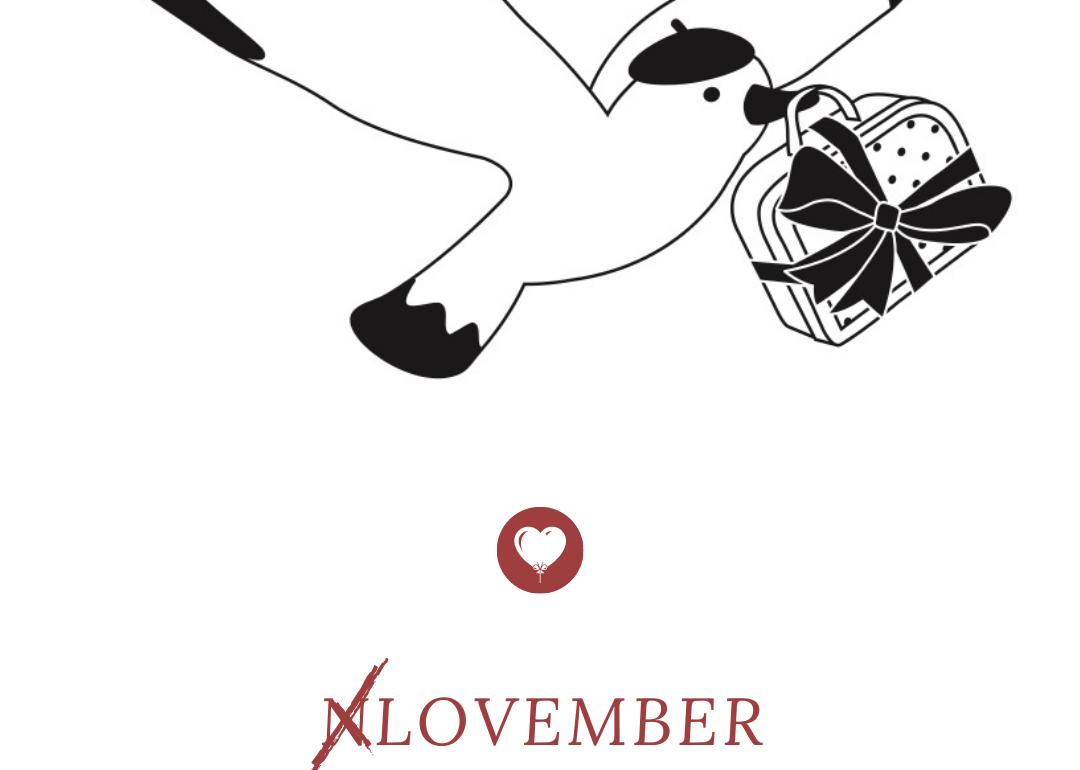 lovember, novembre en douceur, en paix et si possible en harmonie - du vent dans mes valises
