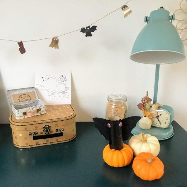 tuto facile guirlande happy halloween - du vent dans mes valises