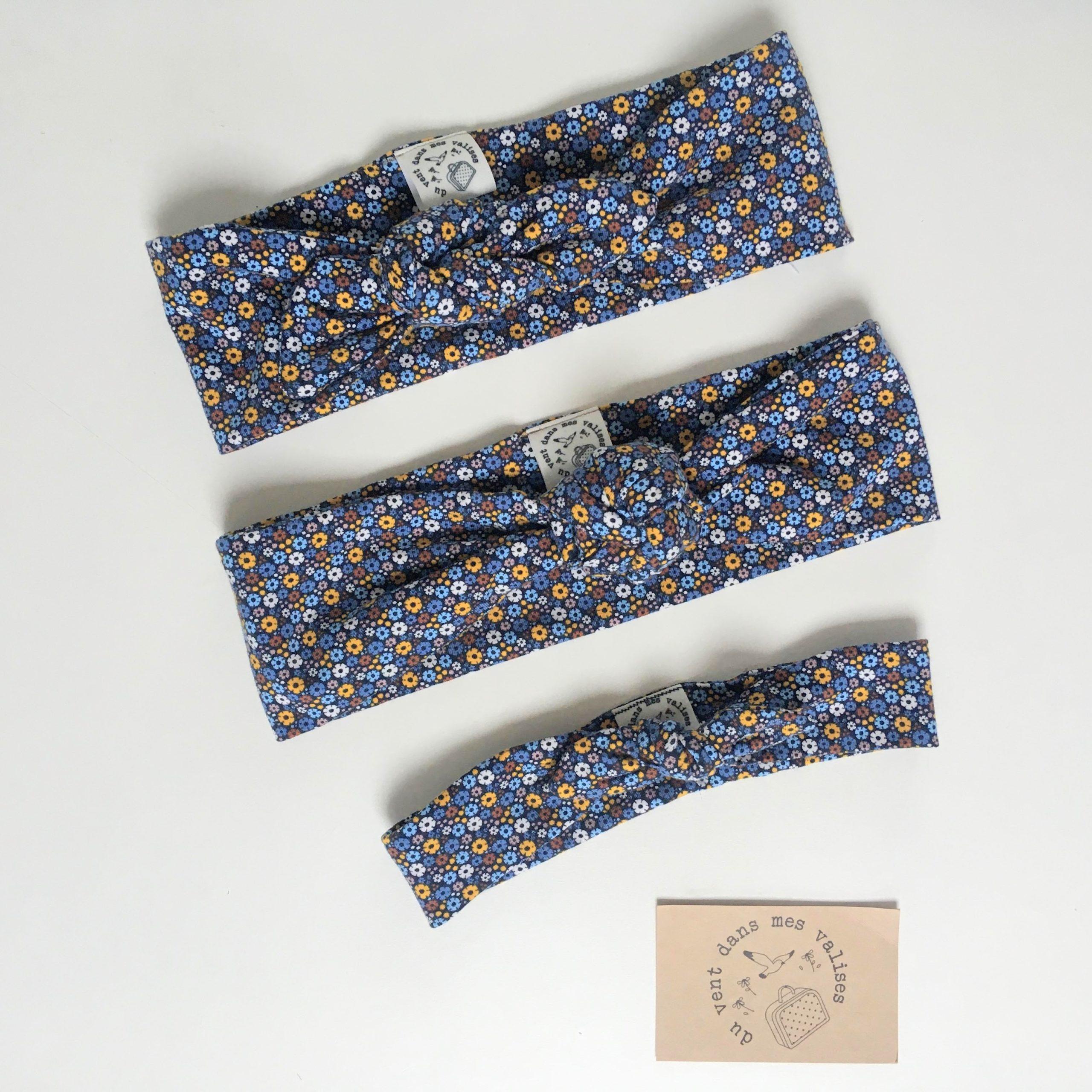 bandeau bébé personnalisé doux et extensible made in France - du vent dans mes valises