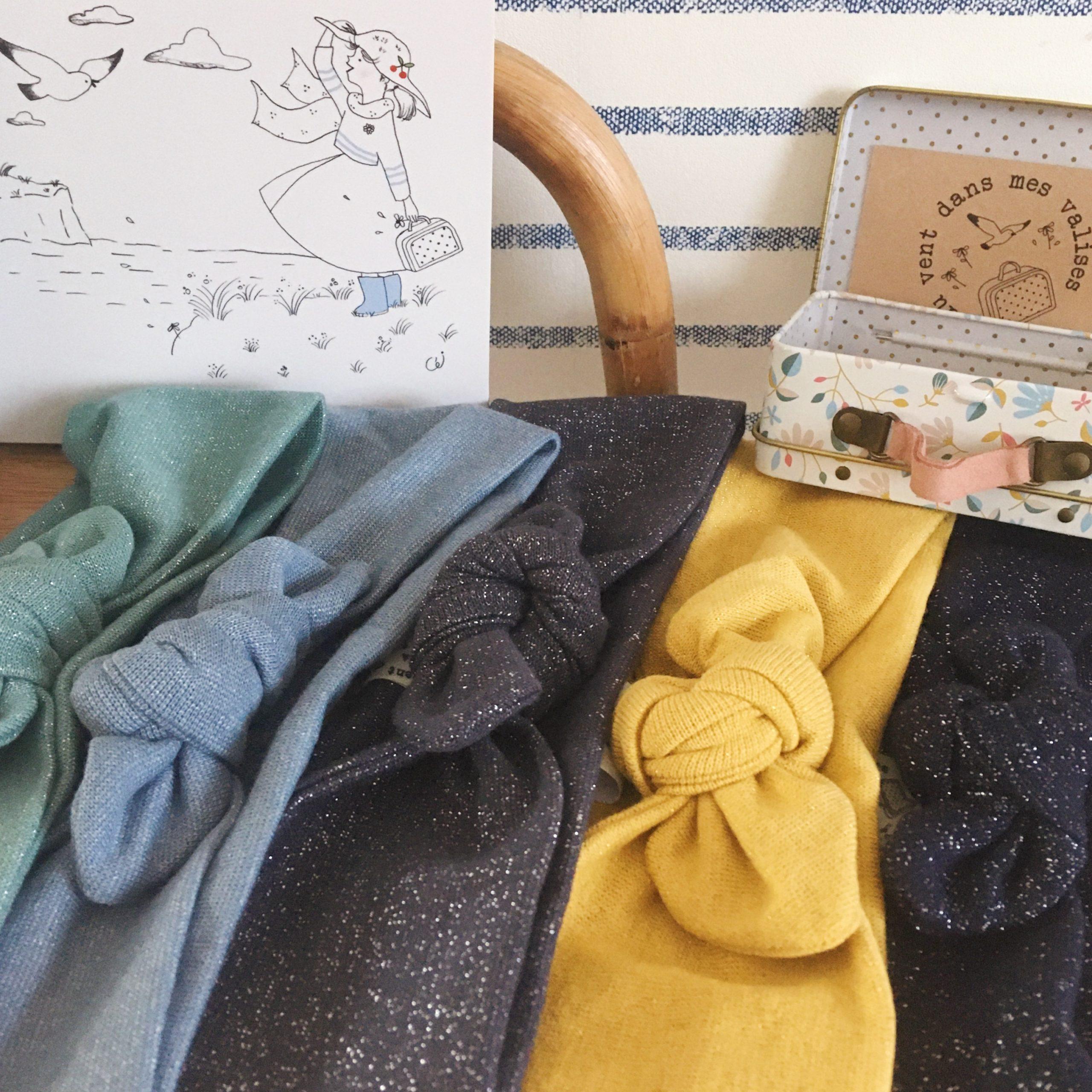 bandeaux extensibles et adaptables femmes filles made in France - du vent dans mes valises