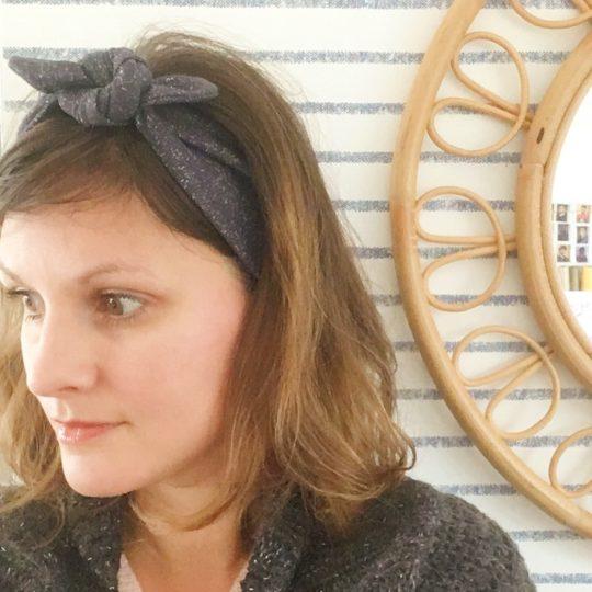 bandeaux extensibles et adaptables jaune femmes et filles made in France - du vent dans mes valises