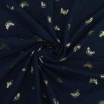 bleu marine papillons