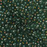 vert sapin motifs sous bois