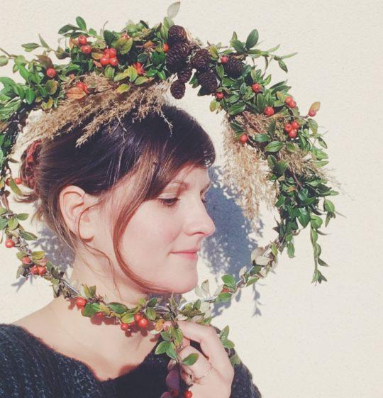 tuto couronne d'automne diy - du vent dans mes valises