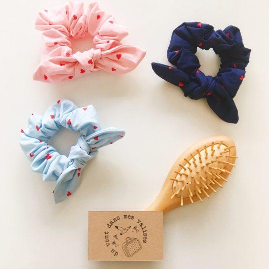 accessoires cheveux made in France, les coeurs - du vent dans mes valises