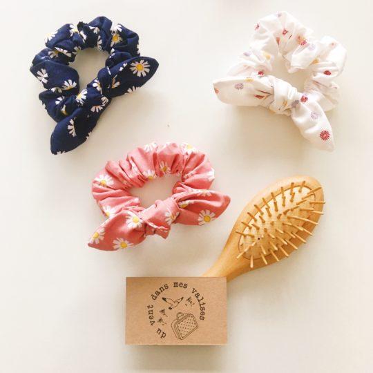 accessoires cheveux made in France, les marguerites - du vent dans mes valises