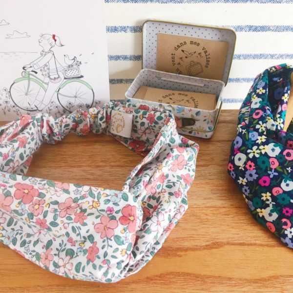 bandeaux imprimé motif floral - du vent dans mes valises