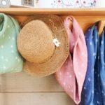 écharpes femmes marguerites made in france en gaze de coton - du vent dans mes valises