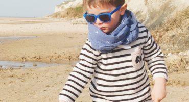 snoods marins garçons bleu houle - du vent dans mes valises