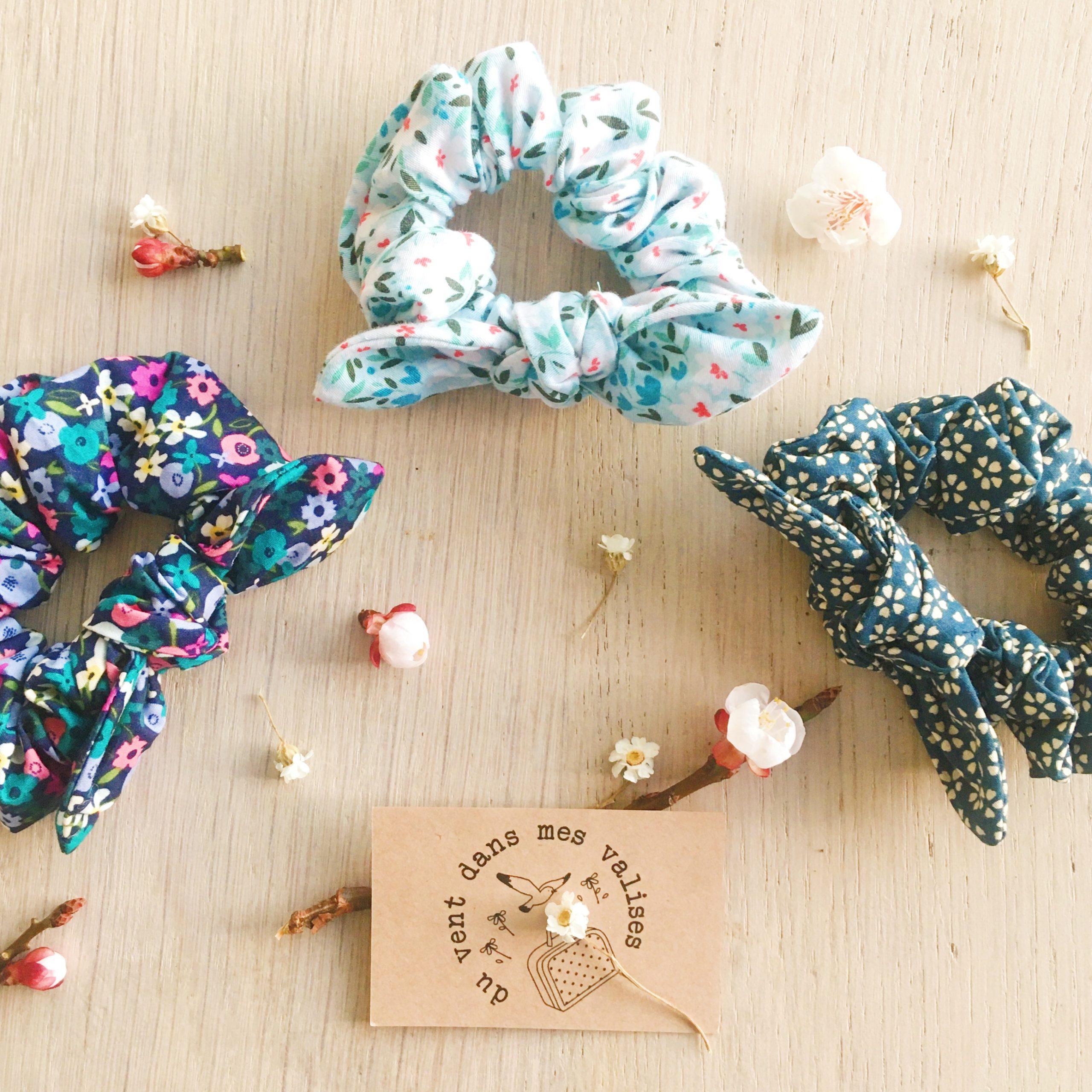 chouchous fleuris femmes made in france - du vent dans mes valises