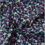 harmonie florale bleu