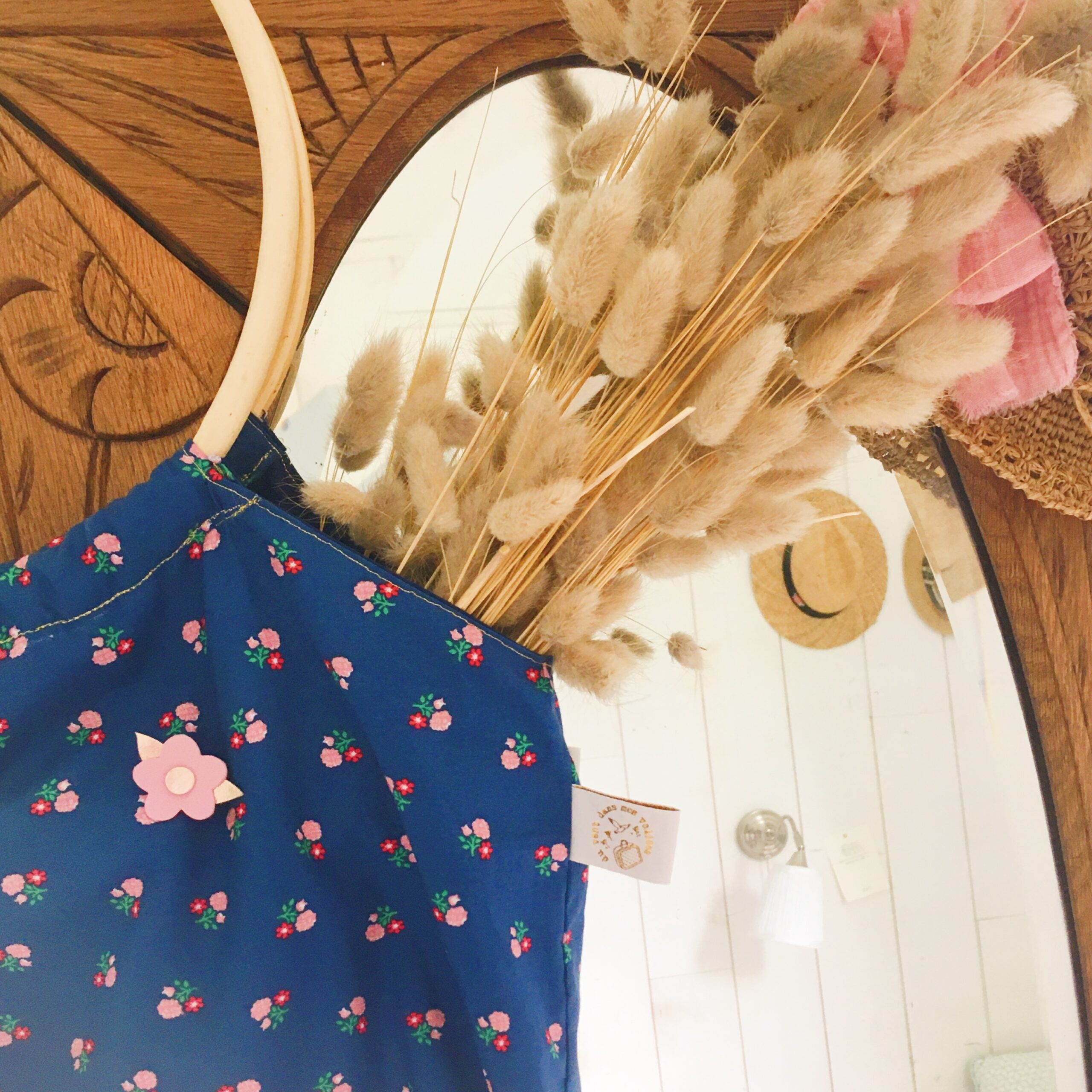 rétro anses rondes osier, fabrication artisanale française - du vent dans mes valises
