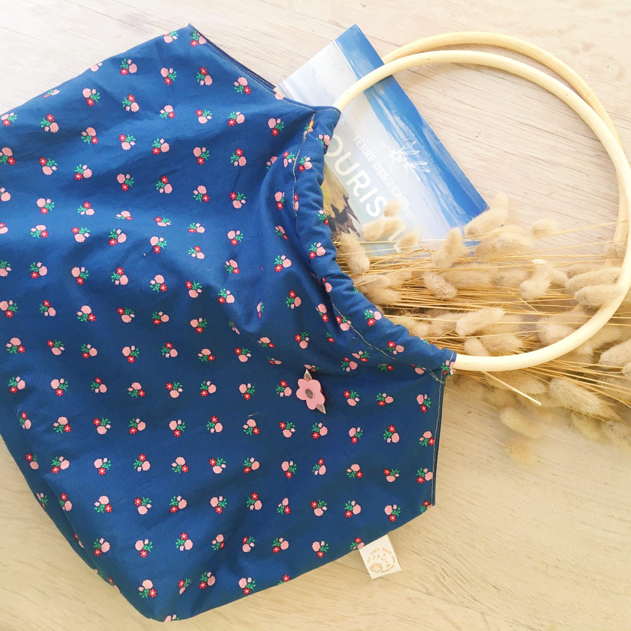 sac rétro anses cercles de rotin, fabrication artisanale française - du vent dans mes valises