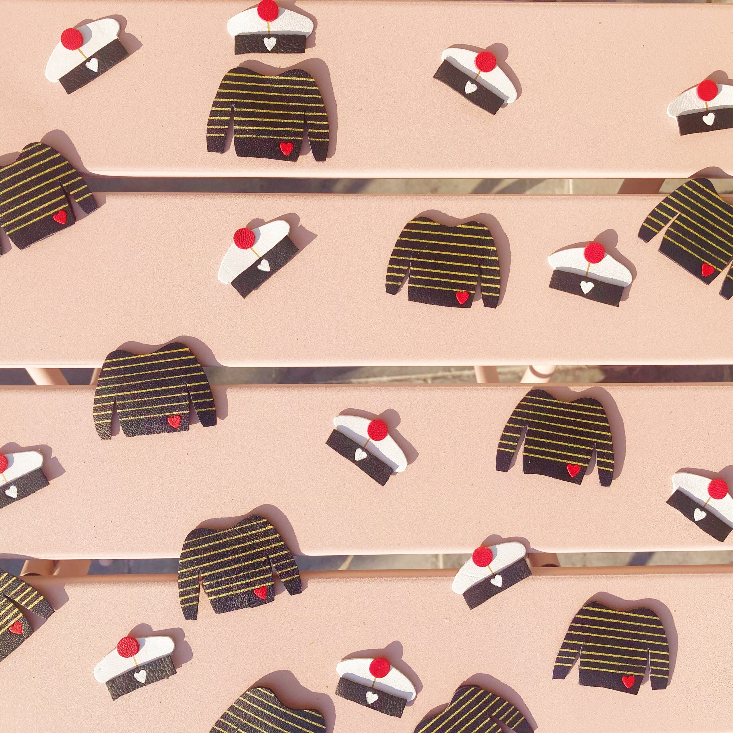 broches bérets et marinières made in france confection artisanale - du vent dans mes valises