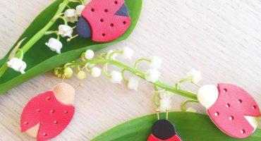 muguet et coccinelles du 1er mai - ©duventdansmesvalises