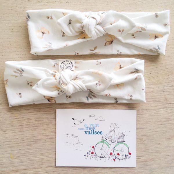 bandeaux extensibles les papillons made in France - du vent dans mes valises