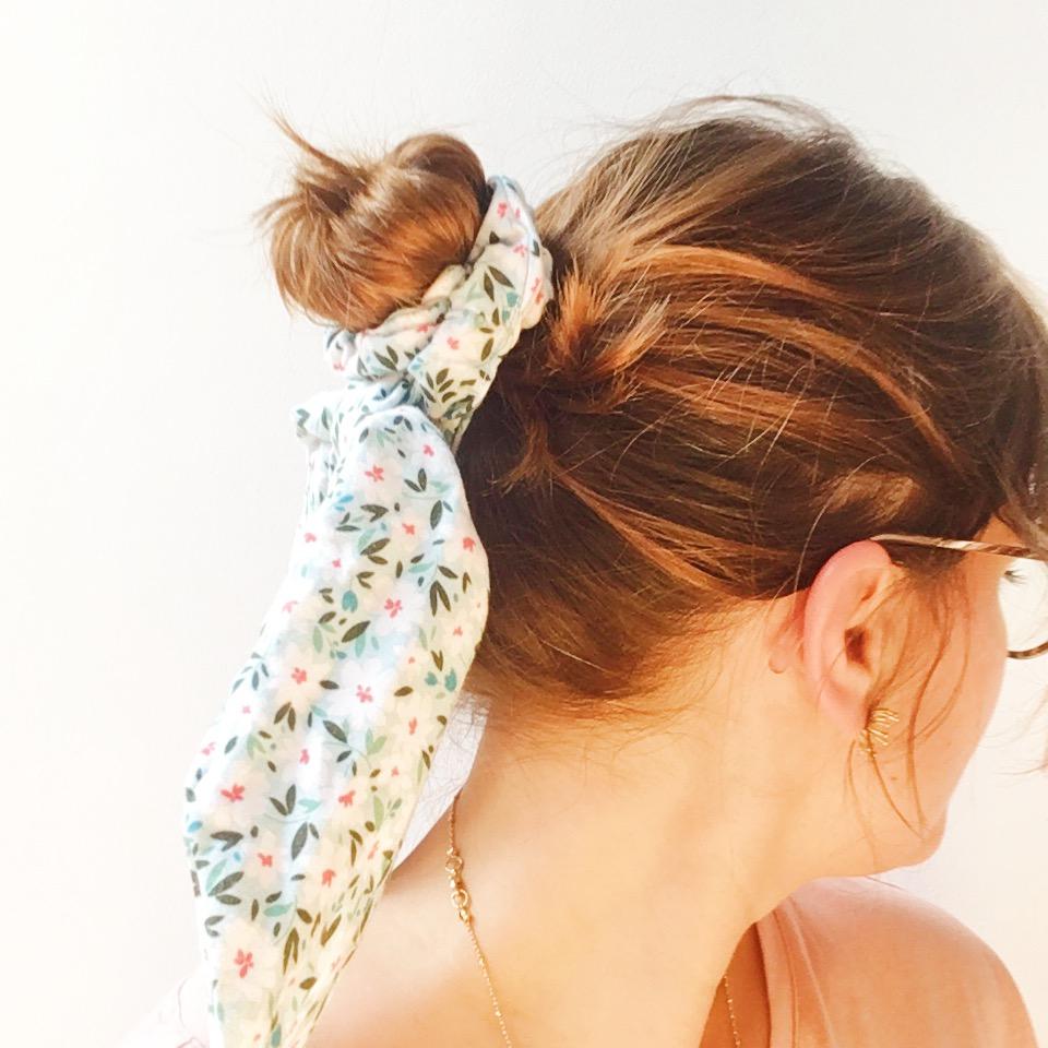 foulchie personnalisé chouchou foulard made in france - du vent dans mes valises