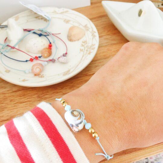 bracelet la mer veille bijou sensible made in france - du vent dans mes valises