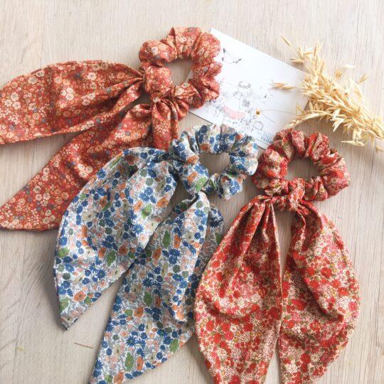 chouchous foulards chics fabrication artisanale française en coton - du vent dans mes valises