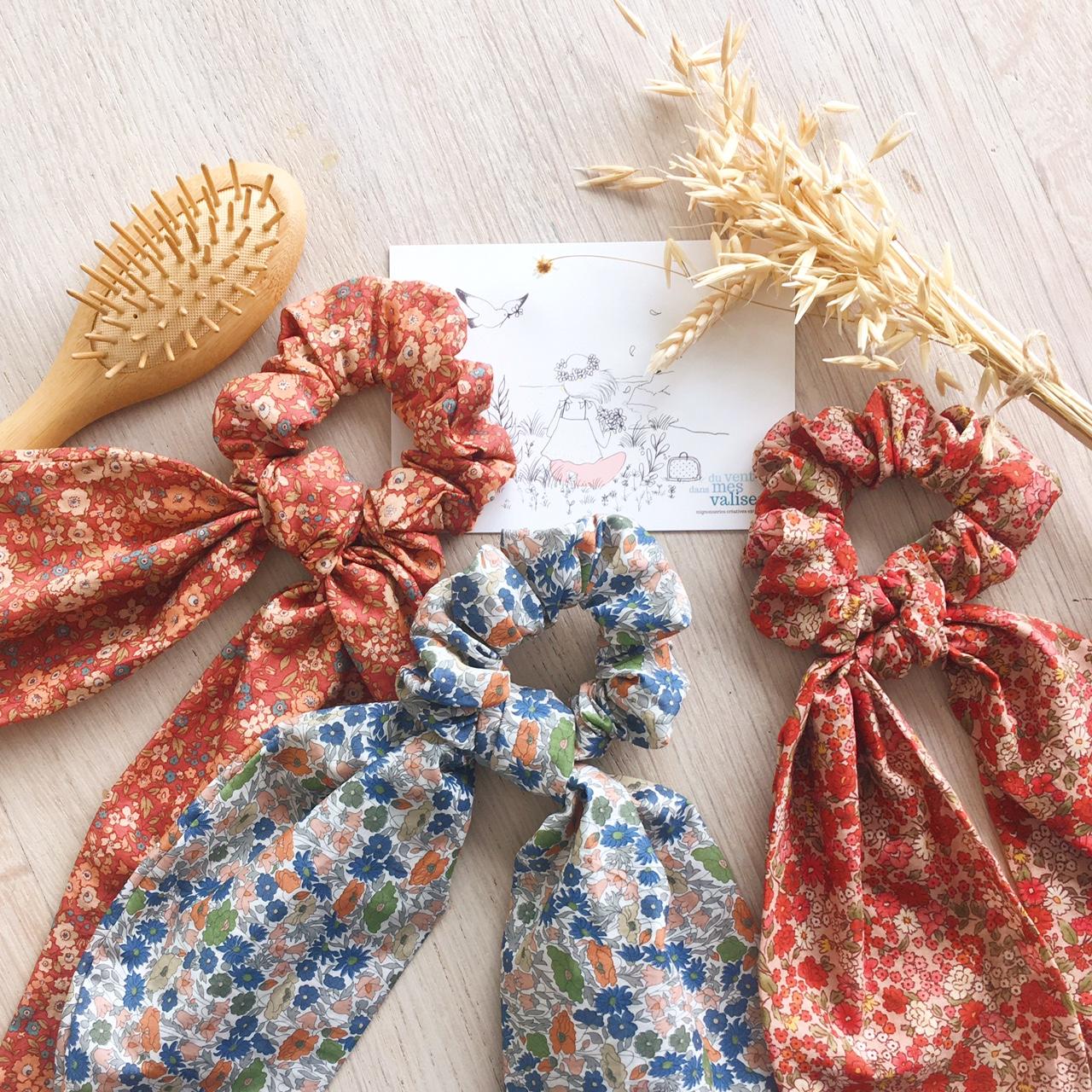 foulchies chics fabrication artisanale française en coton - du vent dans mes valises