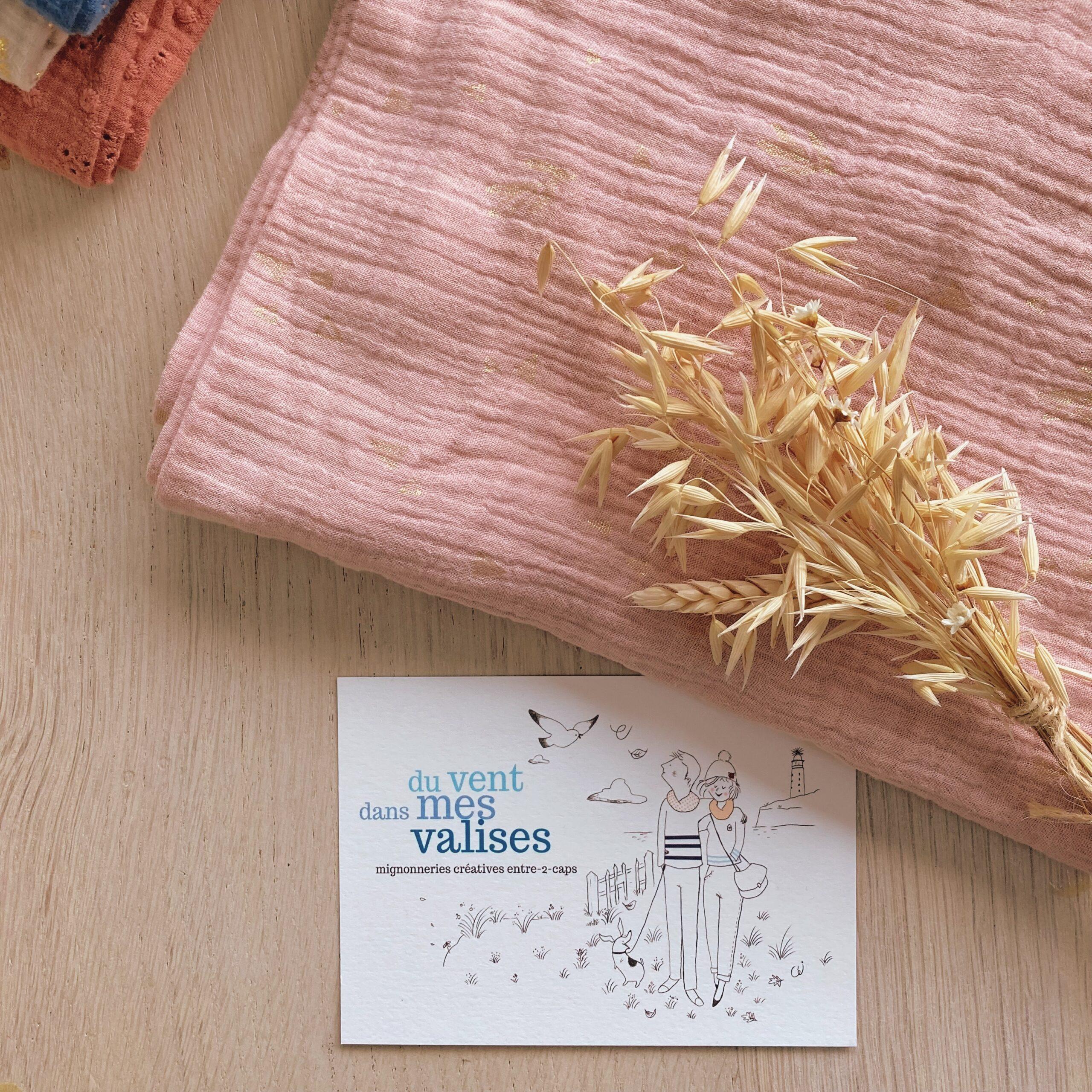 snood-echarpe-femme-made-in-france-double-gaze-rosee-imprime-vegetal-cuivre-du-vent-dans-mes-valises