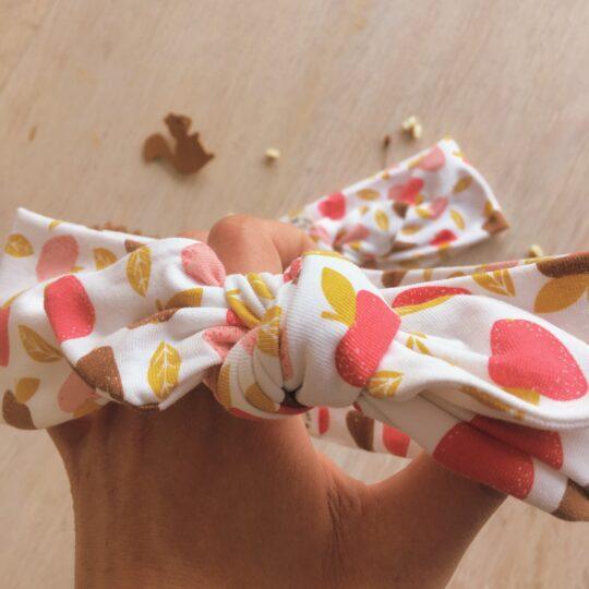 bandeau-femme-fille-jersey-doux-100-coton-pomme-fruits-de-saisoon-rose-marron-violet-jaune-du-vent-dans-mes-valises