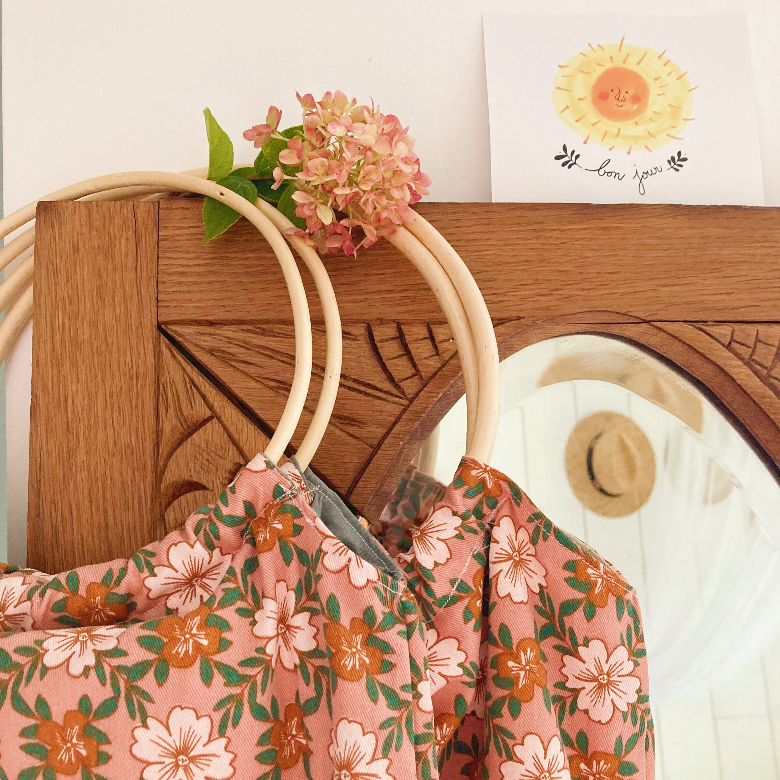le sac paulette anse rotin vintage fabrication artisanale française - du vent dans mes valises