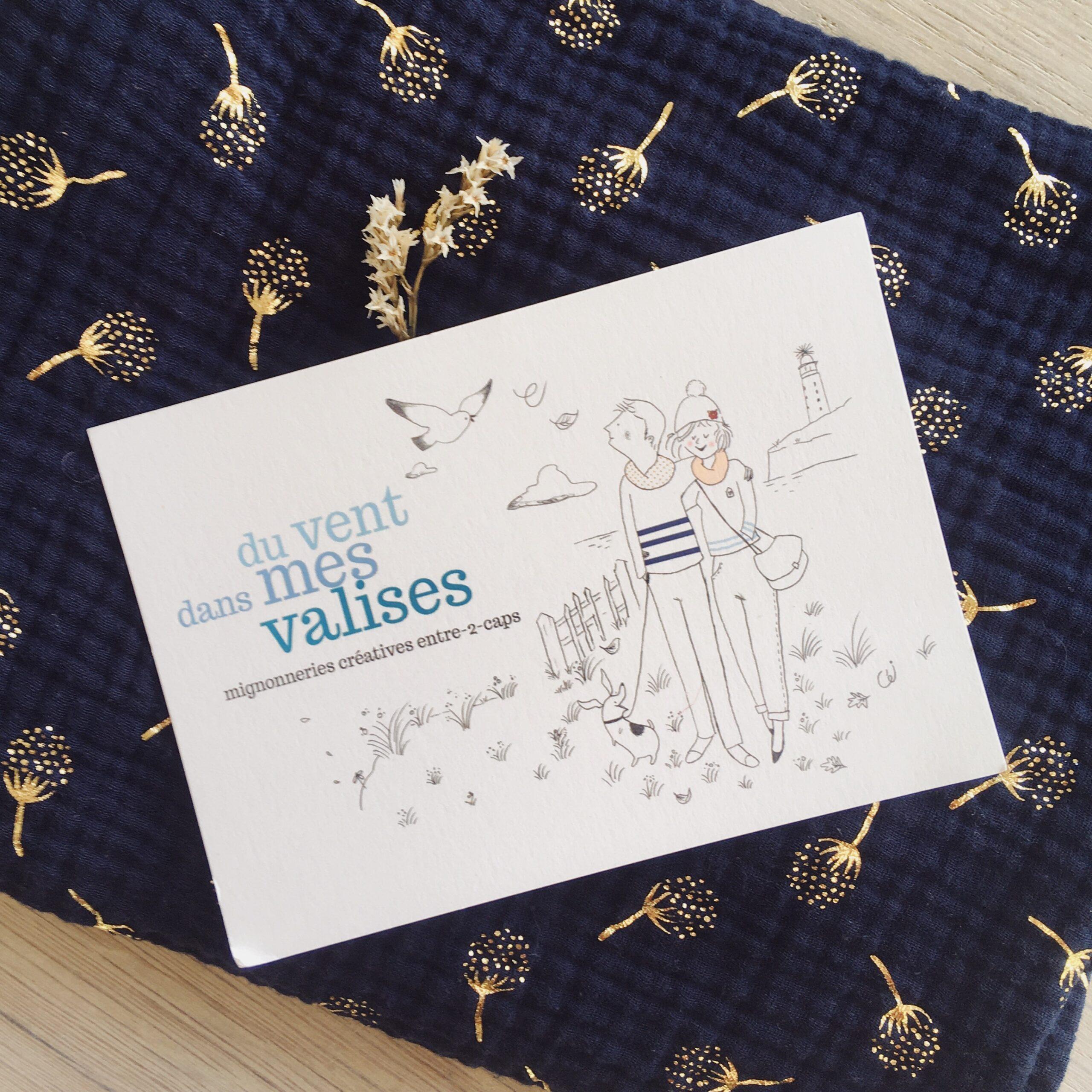 echarpe-tube-snood-femme-fille-chardons-dores-collection-automne-hiver-bleu-marine-confection-artisanale-francaise-en-double-gaze-100-coton-du-vent-dans-mes-valises